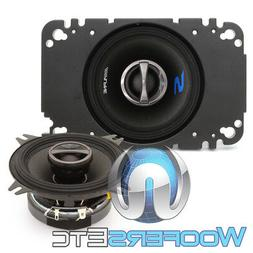 "ALPINE S-S40 4"" & 4""x6"" CAR AUDIO STEREO 140W SILK TWEETERS"
