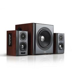 Edifier S350db Bluetooth Bookshelf Speakers With Subwoofer.