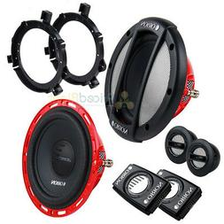 "Set of Orion HCCA52 5.25"" 2-Way Component Speakers 100 Watt"