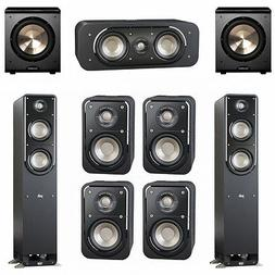 Polk Audio Signature 7.2 System with 2 S50 Tower Speaker, 1