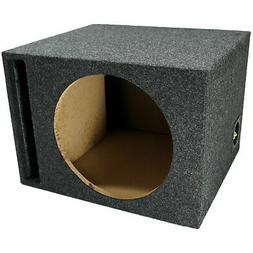 Single 12-Inch Ported Subwoofer Box Car Audio Stereo Bass Sp