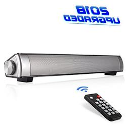 Stonecheng Sound Bar  SoundBar Speaker Wired and Wireless Bu
