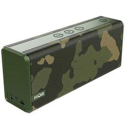 DOSS SoundBox Green Portable Wireless Bluetooth Speakers wit