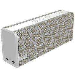 DOSS SoundBox White Portable Wireless Bluetooth Speakers wit
