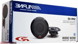 "Alpine SPR-60 6.5"" Car Speakers / 6-1/2"" Car Audio Speaker T"
