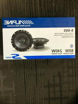 "ALPINE SPS-610 TYPE S 6.5"" CAR AUDIO COAXIAL SPEAKERS 2-WAY"