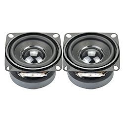 Aiyima 2pcs Subwoofer 2 inch 4ohm 5w Full Range Speaker mini