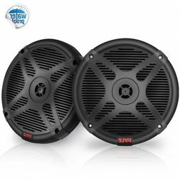 Pyle Outdoor/Surround Rugged Bookshelf Home Speaker Set of 2