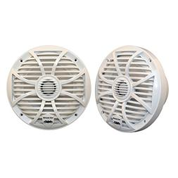 """Wet Sounds SW Series 6.5"""" White Marine Coaxial Speaker - 200"""