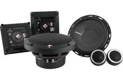 """NEW ROCKFORD FOSGATE T1650-S 6.5"""" POWER  2-WAY CAR COMPONENT"""