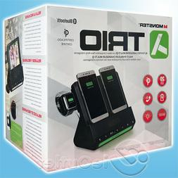 MONSTER TRIO IPHONE APPLE WATCH QI WIRELESS CHARGER BLUETOOT