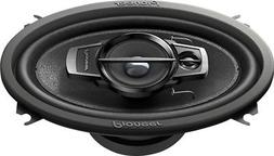 "Pioneer - TS-A Series 4"" x 6"" 3-Way Car Speakers with Multil"