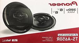 """Pioneer TS-A650R TS-A Series 6-1/2"""" 3-Way Car Speakers with"""