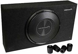 """PIONEER TS-SWX2502 10"""" 1200W 4-OHM LOADED SUBWOOFER ENCLOSUR"""