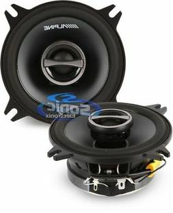 "ALPINE TYPE-S SPS-410 4"" 2-WAY CAR AUDIO SPEAKERS 280 Watt"