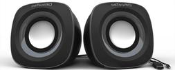 OfficeTec USB 2.0 Multimedia Compact Computer Speakers Syste