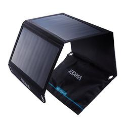 Anker 21W Dual USB Solar Charger, PowerPort Solar for iPhone