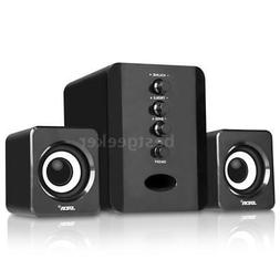 SADA Wired USB Computer Speakers Bass Set Stereo Subwoofer S
