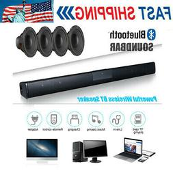 Wireless 3D Surround Sound with 4 Subwoofer Bluetooth Soundb