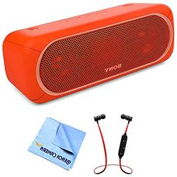 Sony XB40 Portable Wireless Speaker with Bluetooth Red  with
